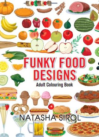 Funky Food Designs cover