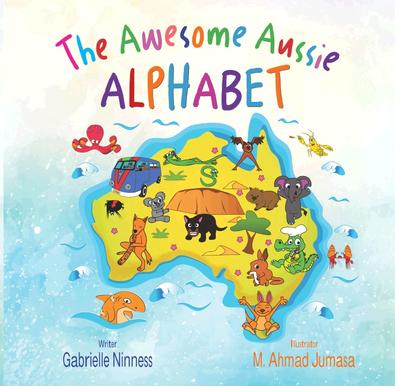 The Awesome Aussie Alphabet cover
