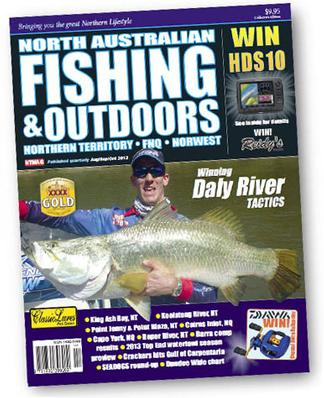 North Australian Fishing & Outdoors magazine cover