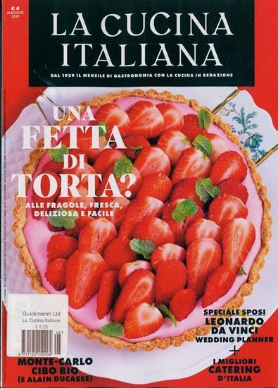 la Cucina Italiana (Italy) magazine cover