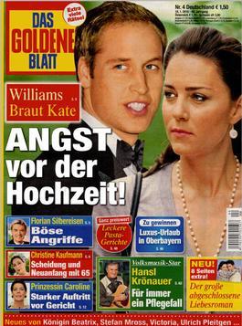 Das Goldene Blatt (Germany) magazine cover