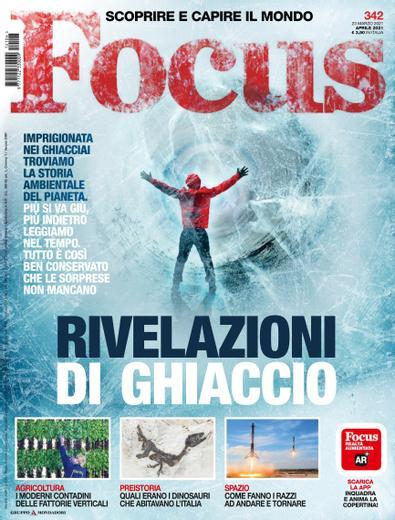 Focus Italy magazine cover