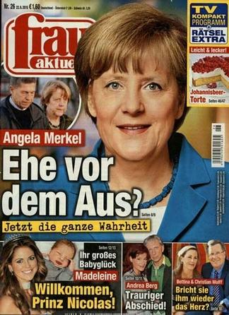 Frau Aktuell (Germany) magazine cover