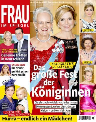 Frau Im Spiegel (Germany) magazine cover