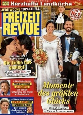 Freizeit Revue (Germany) magazine cover