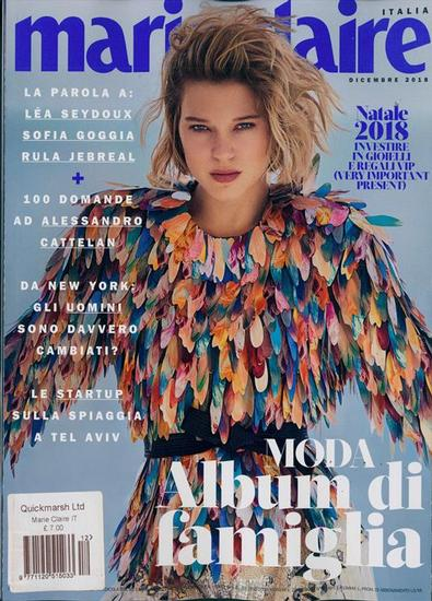 Marie Claire (Italy) magazine cover