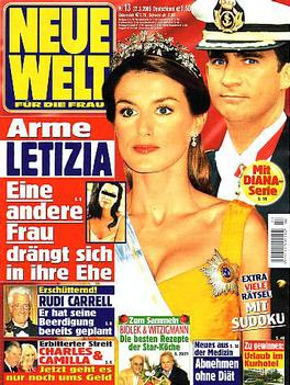 Neue Welt (German) magazine cover