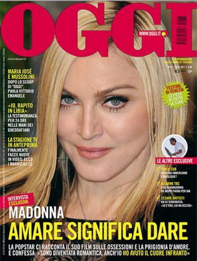 OGGI (Italia) magazine cover