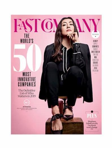 Fast Company (USA) magazine cover
