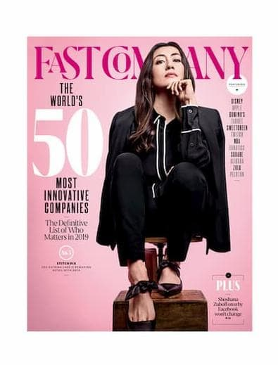 Fast Company (USA) magazine cover