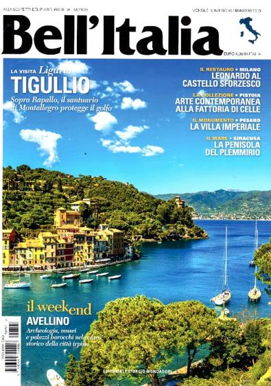 Bell'Italia magazine cover