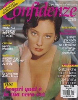 CONFIDENZE (Italy) magazine cover
