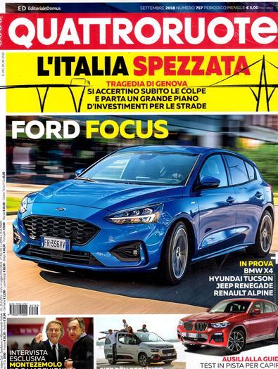 Quattroroute (Italy) magazine cover