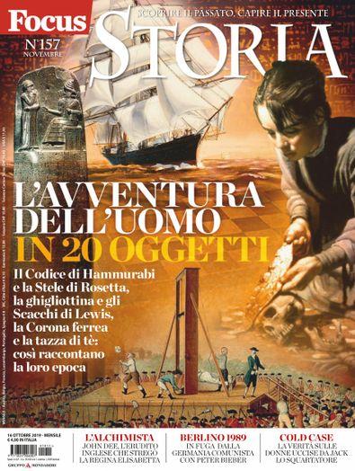 Focus Storia (Italy) magazine cover