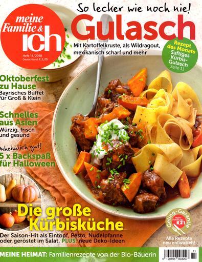 Meine Familie und ich (Germany) magazine cover