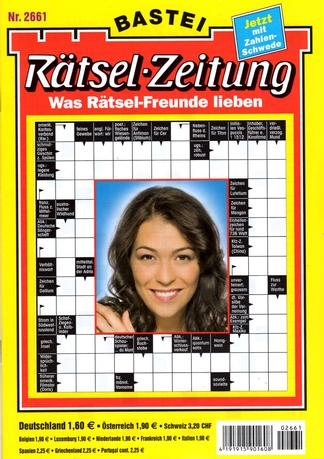 Ratsel - Zeitung (Germany) magazine cover