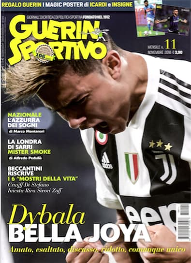 Guerin Sportivo (Italy) magazine cover