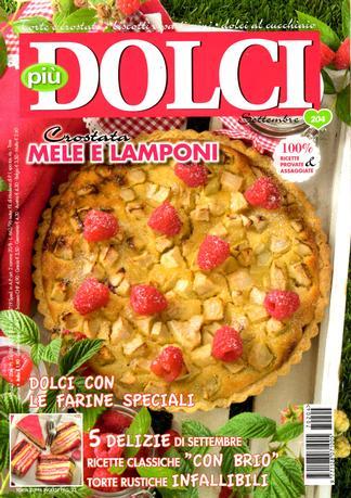 Piu Dolci (Italy) magazine cover