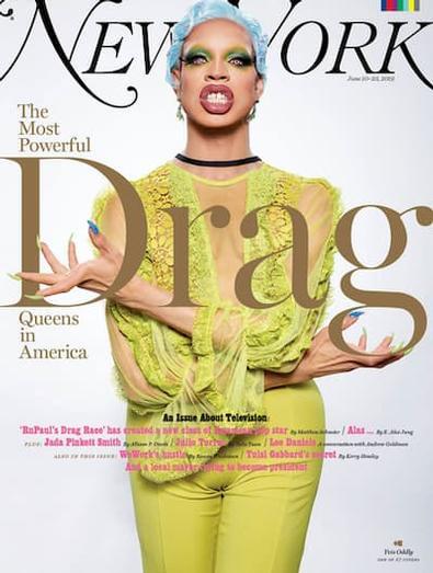 New York (US) magazine cover
