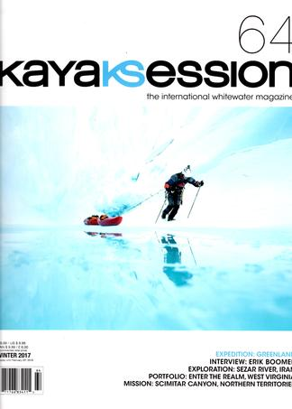 Kayak Session magazine cover