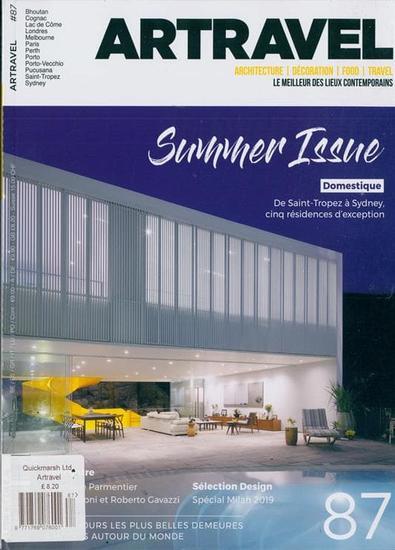 Artravel magazine cover