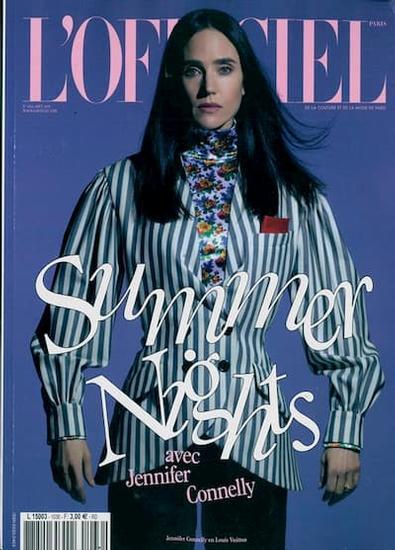 L'Officiel - De La Couture  (French) magazine cover