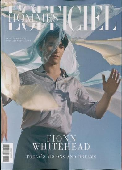 L'Officiel Hommes Italia magazine cover