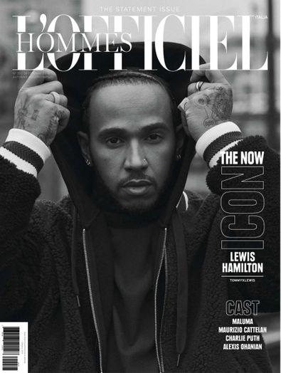 L'Officiel Hommes Italia magazine cover