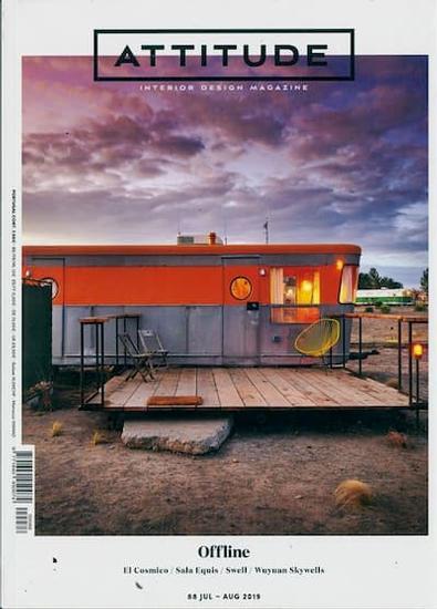 Attitude Interior Design magazine cover