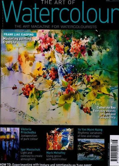 The Art of Watercolour magazine cover