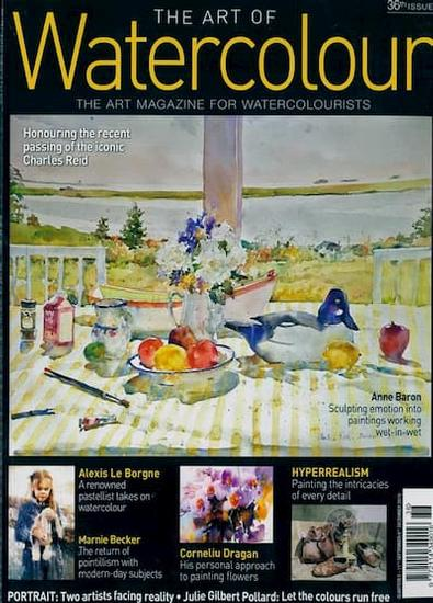 The Art of Watercolour magazine cover
