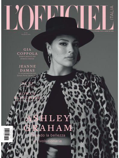 L'Officiel Italia magazine cover
