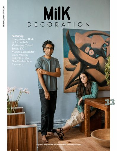 Milk Decoration magazine cover