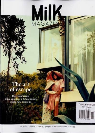 Milk magazine cover