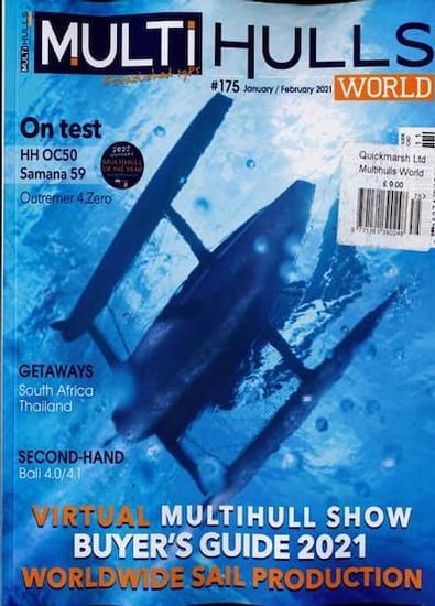 Multihulls magazine cover