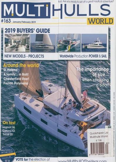 Multihulls magazine cover