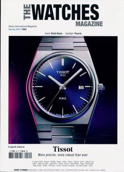 The Watches magazine cover