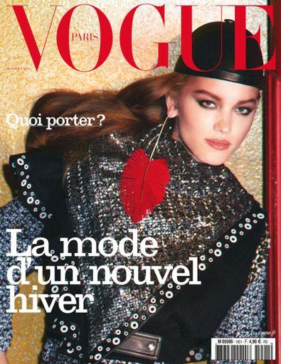 Vogue Paris magazine cover