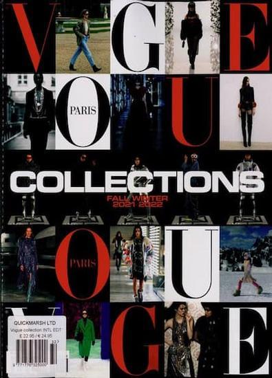 Vogue Paris Collections magazine cover