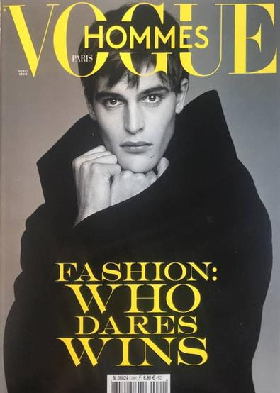 Vogue Hommes HS VA magazine cover