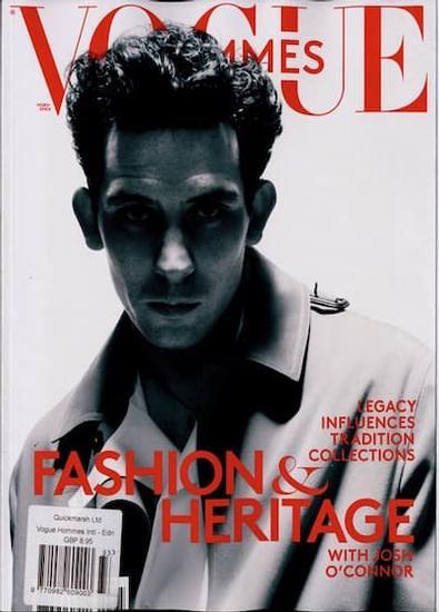 Vogue Hommes HS VA magazine cover
