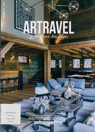 Artravel HS magazine cover
