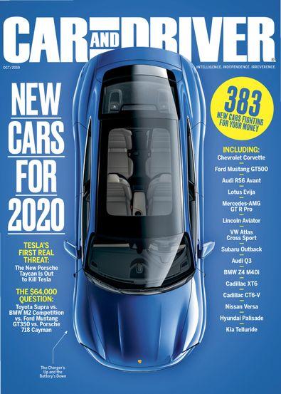 Car & Driver (USA) magazine cover