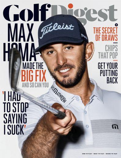 Golf Digest (USA) magazine cover