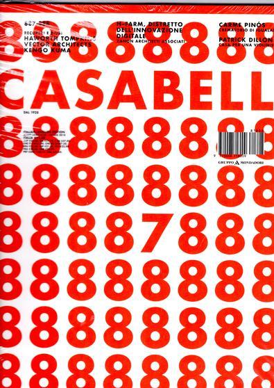 CASABELLA (Italy) magazine cover