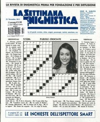 La Settimana Enigmistica (Italy) magazine cover