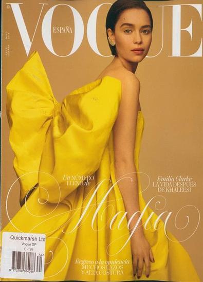 Vogue Espana magazine cover