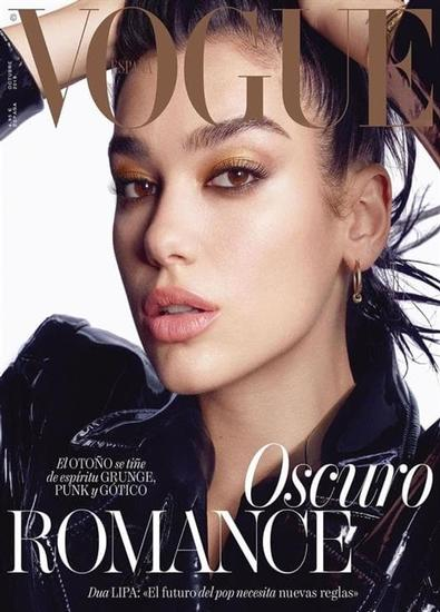 Vogue Espana magazine cover
