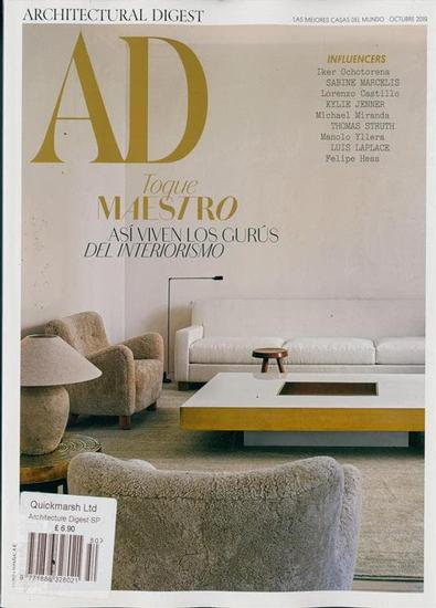 Architectural Digest Espana magazine cover