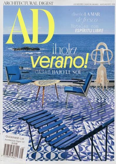Architectural Digest Espana magazine cover